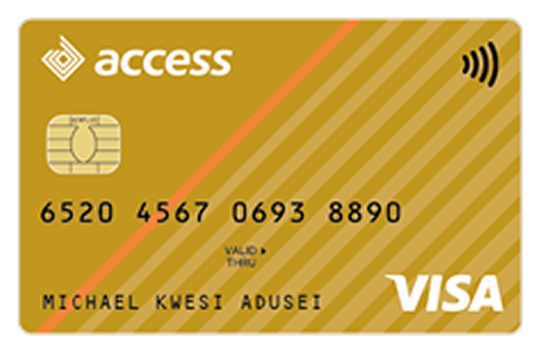 Access Bank Ghana VISA Card Gold